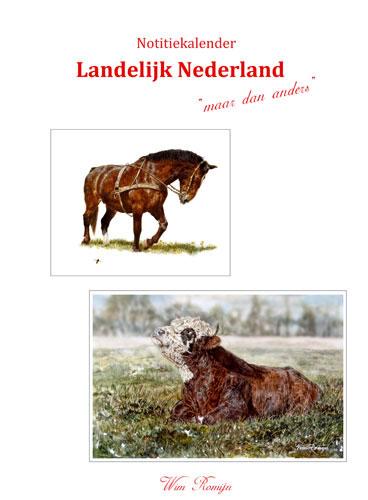 Notitiekalender Landelijk Nederland