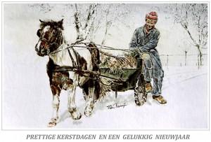 Kerstkaart Shetlander