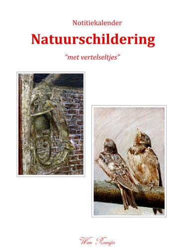 Notitiekalender Natuurschildering