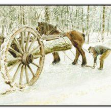 Kerstkaart Jeanne voor mallejan